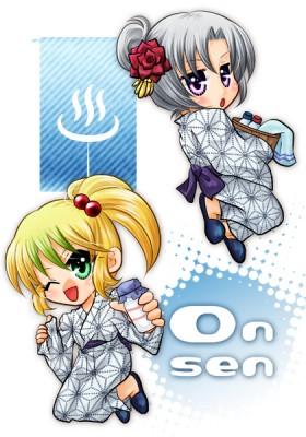 シリルとヘキサ(創作「LilacFantasy」)